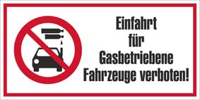 Verbotszeichenschild 70753