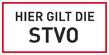Verbotszeichenschild 70760  - klein