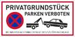 Verbotszeichenschild 70761  - klein