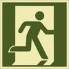 Rettungszeichenschild 72601  - klein