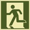Rettungszeichenschild 72602  - klein