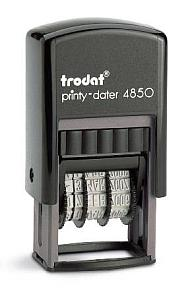 Trodat Printy 4850 - SCHWARZ