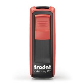Trodat Pocket Printy 9511 - rot