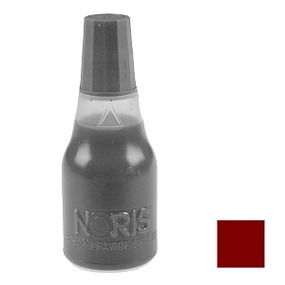 NORIS 110 Stempelfarbe, braun