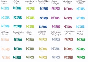 NORIS 115 Stempelfarbe, petrol