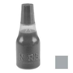 NORIS 115 Stempelfarbe, silbergrau