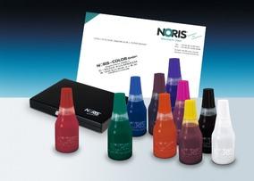 NORIS 115 Stempelfarbe, kupferbraun