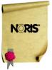 NORIS 120 Urkundenstempelfarbe, schwarz - klein