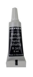 Reiner Metallstempelfarbe schwarz
