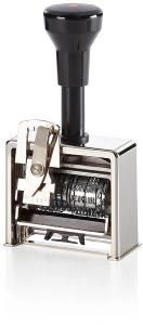 Datum-Paginierstempel 8 5,5mm Antiqua-Block