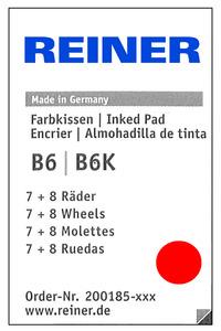 REINER Filzfassung  B6 8-stellig