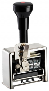 Datum-Paginierstempel 9 4,5mm Block-Block