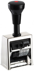 Paginierstempel B6 6stlg. 4,5mm Antiqua