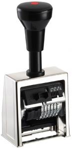 Paginierstempel B6 6stlg. 5,5mm Block