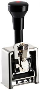 Paginierstempel C 6stlg. 4,5mm Block