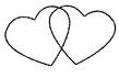 Petschaft/Siegel mit Herzen - klein