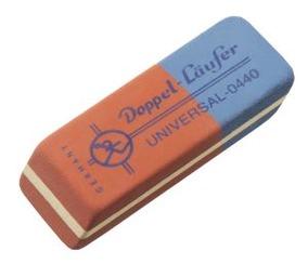 Läufer Doppelradierer 04400
