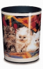 Läufer Papierkorb Katzen 26552  - klein