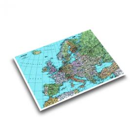 Läufer Landkarten Schreibunterlage 45347
