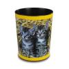 Läufer Motiv-Poster Papierkorb Katzen im Stroh 26654  - klein