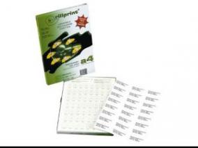 Rillstab Rillprint Etiketten 59107