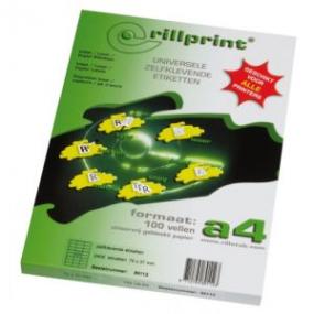 Rillstab Rillprint Etiketten 59109