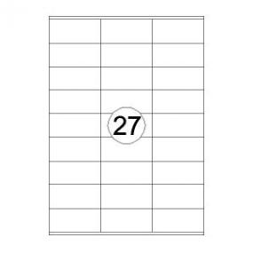 Rillstab Rillprint Etiketten 59110