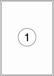 Rillstab Rillprint Etiketten 59124