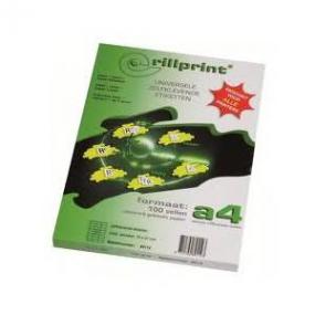 Rillstab Rillprint Etiketten 59128
