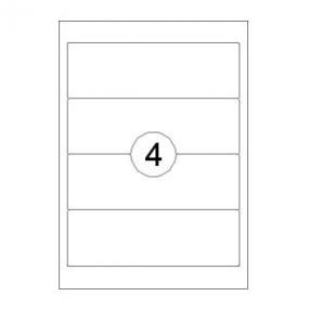 Rillstab Rillprint Etiketten 59143