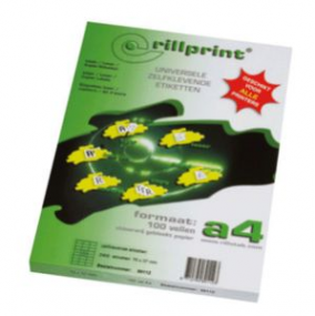 Rillstab Rillprint Etiketten  59150