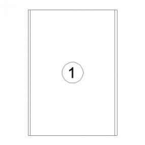 Rillstab Rillprint Etiketten 59156