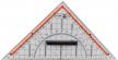 Geo-Dreieck groß  - klein