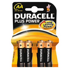 Duracell Plus MN1500 K4