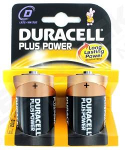 Duracell Plus Mono MN1300 K2