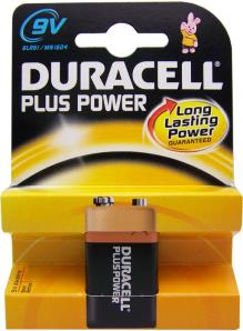 Duracell Plus MN1604 K1  9V