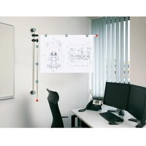 MAUL Planhalter Wand 62530