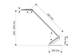 MAUL LED-Designleuchte MAULsolaris 82060