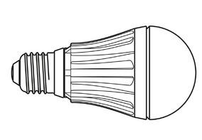 MAUL Energiespar-Leuchtmittel 82910