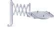 MAUL Telefon-Scherenarm 83132  - klein