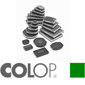Colop Ersatzkissen Colop E/OV55 oval grün