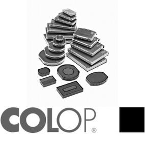 Colop Ersatzkissen E/R12 rund schwarz