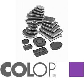 Colop Ersatzkissen E/R24 rund violett