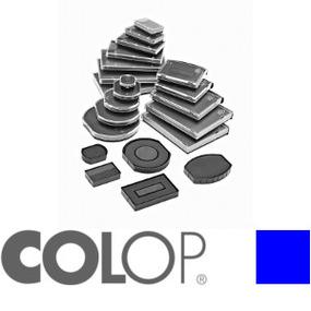 Colop Ersatzkissen E/R50 rund blau