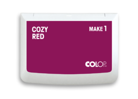 Colop Stempelkissen Make 1 cozy red