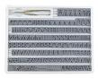 Telos Typensatz A 2/12   3 mm - klein