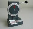 §57a KFZ Prüfplaketten Perforiergerät 1-Rad - klein