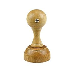 Holzstempel rund