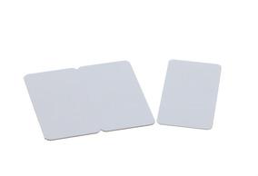EVOLIS Plastikkarten 3-teilig,weiß,100Stk.