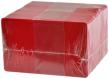 Plastikkarten rot, 30mil, 100 Stk. - klein